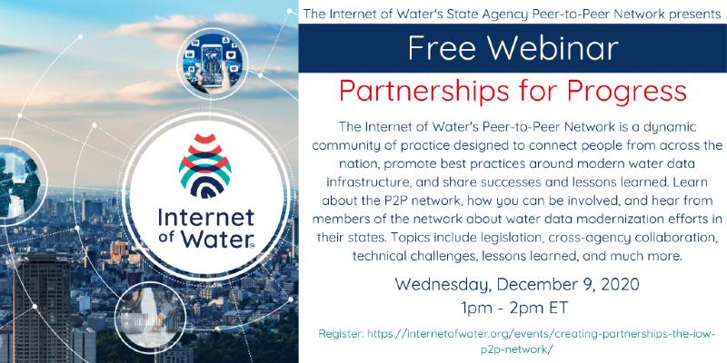 Internet of Water :: Upcoming Webinars