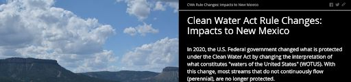 2020-2021 New Mexico Water Data Challenge